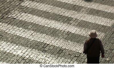 People On Cross-Walk
