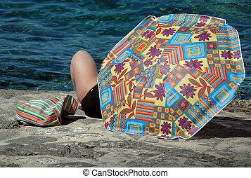 People on the beach2