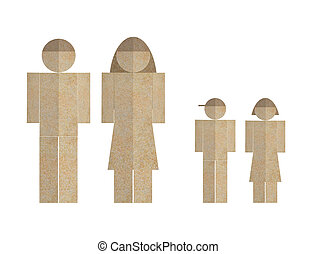 People Paper Cut Out