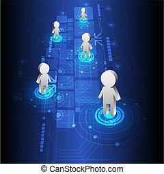 people positioning and technology design