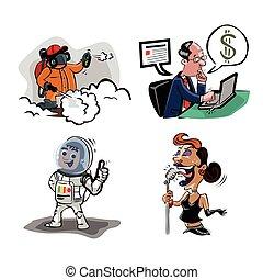 people profession illustration