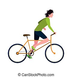 people riding bicycle activity image