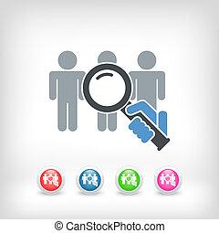 People selection