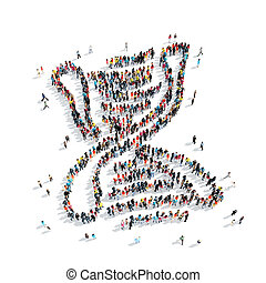 people shape DNA medicine
