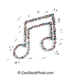 people shape note music