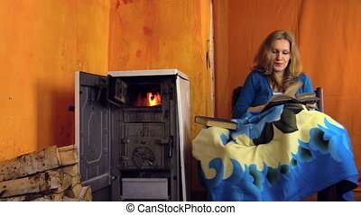 people talk wine stove - man bring his girlfriend reading...