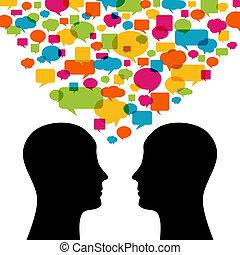Talking - People Talking