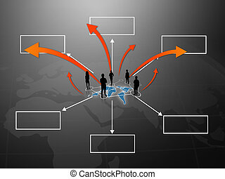 people team with diagram