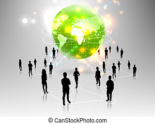 people team with Green Planet