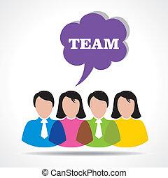 people teamwork concept