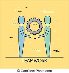 people teamwork cooperation solution business