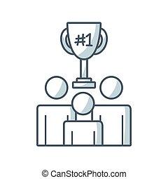 people teamwork flat icon