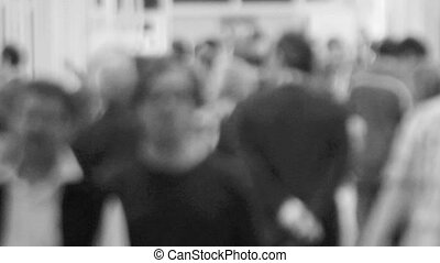 People Timelapse - Timelapse of people inside a convention...