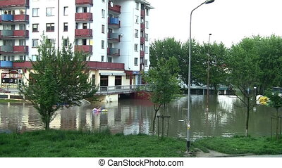people transportation from flooded area - People being...