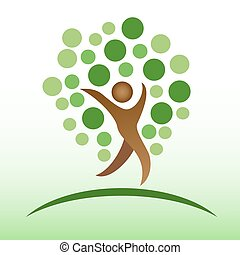 people tree icon