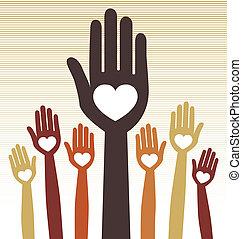 People united vector.