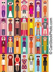 People vector illustration