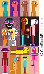 People - vector illustration