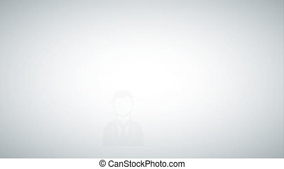 People with bubble, Video Animation