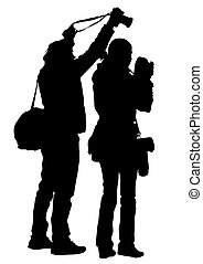 People with camera