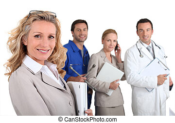 People with fulfilling careers