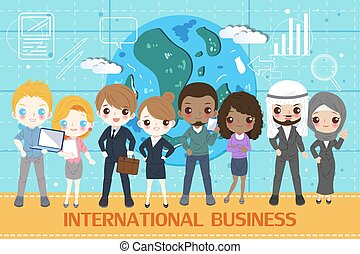 people with innternational business