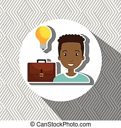 people with suitcase isolated icon design