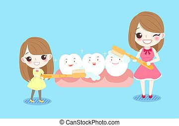 people with tooth