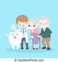 people with tooth health