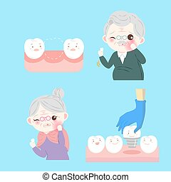 people with tooth implant