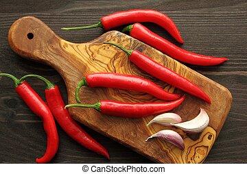 pepe, aglio