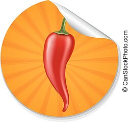 pepe, etichetta