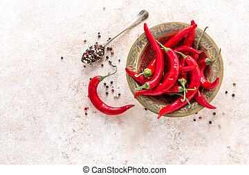 pepe peperoncino rosso