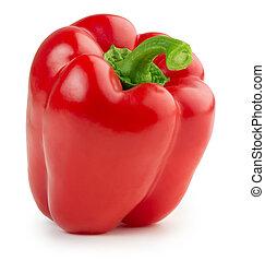 peper, rood, klok