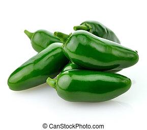 peper, warme, groene