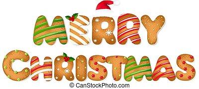 peperkoek, kerstmis, tekst