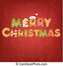 peperkoekkoekjes, kerstmis, tekst