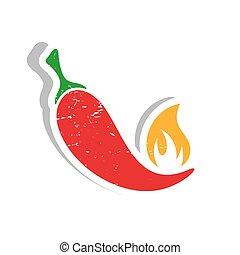 peperoni, etikett