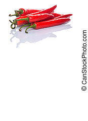 peperoni, peperoncino, rosso