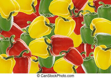 peppar, bakgrund
