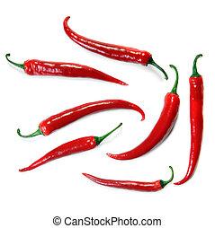 peppar, röd