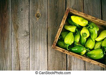 Pepper in a box
