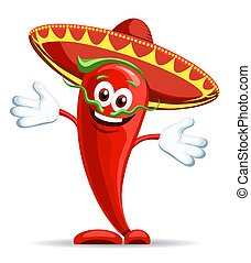 Pepper in sombrero