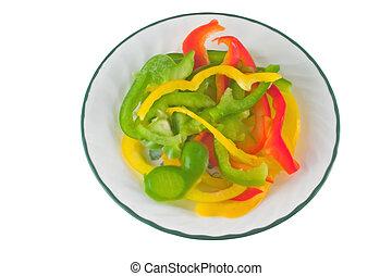 pepper medley on white 2