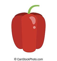 Pepper vegetable food vector illustration graphic design