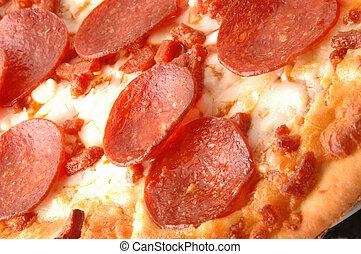 pepperoni, torta, 591