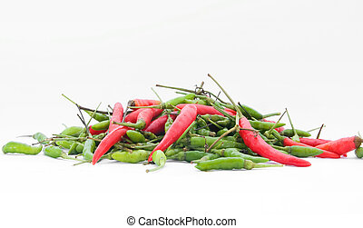 peppers - a pile of chilie