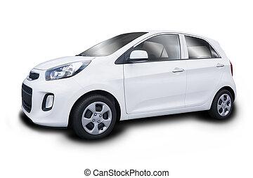 pequeño, coche nuevo