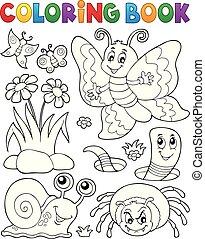pequeño, colorido, animales, libro, 4