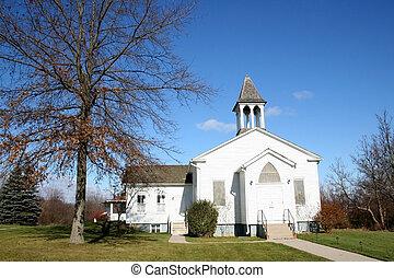 pequeño, iglesia